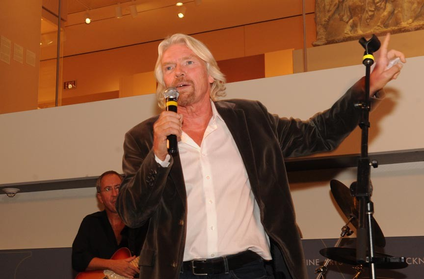 Richard Branson. - SCOTT ELMQUIST