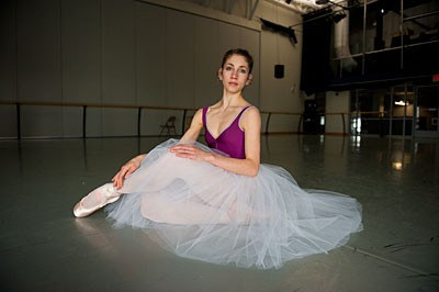 "Richmond Ballet dancer Shira Lanyi tackles one of the great lead roles in dance: The unstable lead character in ""Giselle."" ""She's naA_ve, for sure,"" the ballerina says. ""That might also be a quality that drives her to madness."" Photo by Scott Elmquist."