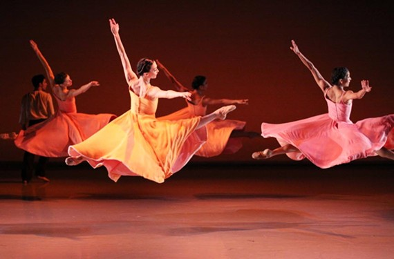 "Richmond Ballet in Ma Cong's ""Ershter Vals,"" one of the pieces the company plans to perform while in China."