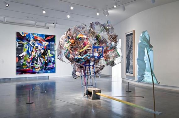 "Richmond native Katie Grinnan's ""Brainwaves"" (2011) is on display as part of VMFA's series on living regional artists. - DAVID STOVER/VIRGINIA MUSEUM OF FINE ARTS"