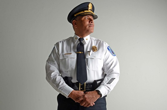 Richmond Police Chief Alfred Durham was officially sworn in Friday, but took command of the Police Department the previous weekend. The 51-year-old brings experience from time in Washington and Richmond.