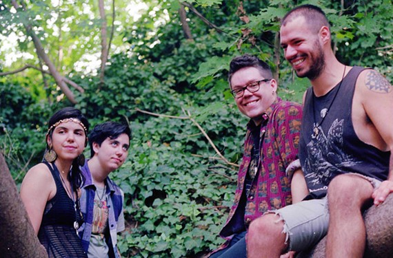 Richmond's Heavy Midgets make catchy, melodic garage rock that is anything but static. Band members include Charlanne McCarthy, Bren Hall, Ian McQuary and John Graham.