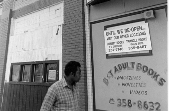Rik Davis was murdered at B&T Adult Bookstore, formerly at 1203 W. Broad St., in 1983.