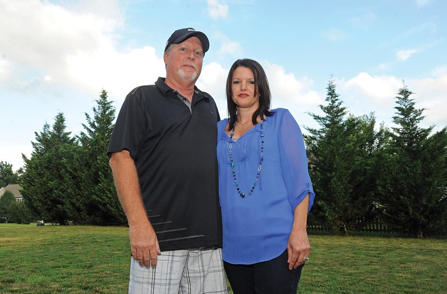Ronnie and Nancy Wright say they were removed from their position in the church leadership after they tried to ask questions about the ROC's finances. - SCOTT ELMQUIST