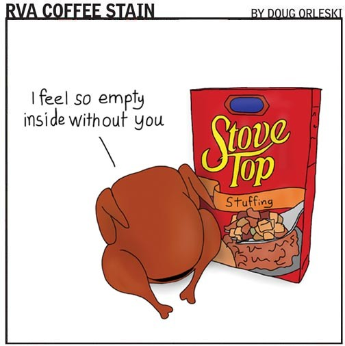 GO TO RVACOFFEESTAIN.COM TO READ MORE OD DOUG ORLESKI'S COMICS.