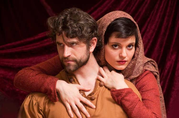 Ryan Bechard and Zoe Speas star in a captivating version of a Shakespeare classic. - ERIC DOBBS
