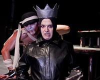 Ryan Bechard, as the sinister Figure of Human Potential, stalks King John (Thomas Cunningham).
