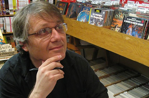 Scott McCloud is an American cartoonist and comics theorist who authored a creator's bill of rights in 1988, which helped protect the rights of comic book artists.