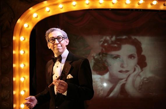 Scott Wichmann plays legendary comedian George Burns in Virginia Rep's latest. - JAY PAUL