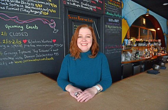 Secco Wine Bar's Julia Battaglini places a priority on hiring nice, smart servers. She can teach them the rest.