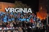 Senate candidate Tim Kaine stumps for the Obama presidential  ticket at Tredegar last week. Both won.