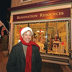 """Shop owner Kevin W. Korda says Broad Street can recapture the glory of Christmases past. """"You hear so much about what Richmond was. So why can't Richmond be that — plus?"""" he asks."""