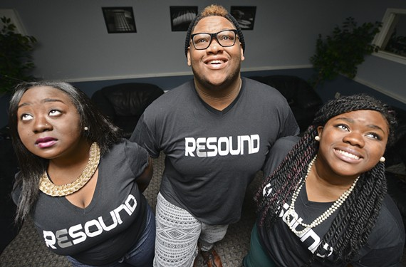 Singers Mariah Hargrove, Joseph Clarke and Jessica Fox make beautiful music together in the gospel group Resound, which has become something of a viral sensation thanks in part to a tweet by Ariana Grande.