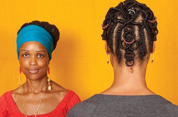 "Sonya Clark's ""Hair Craft Project."""