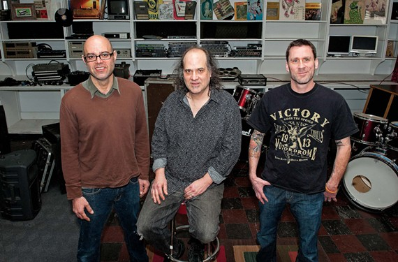 Sound of Music's partners are Miguel Urbiztondo, John Morand and Scott Harritan (not pictured, Craig Harmon).