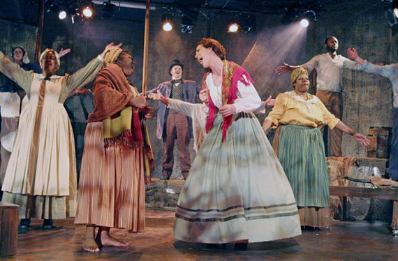 """Southern Discomfort: The cast of """"Dessa Rose"""" is in good singing form. Too bad the musical's featured songs aren't worthy of members' talents. - JAY PAUL"""