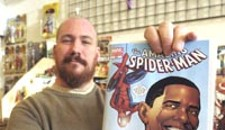 Spider-Man and Obama? The First Nerd Sells Out