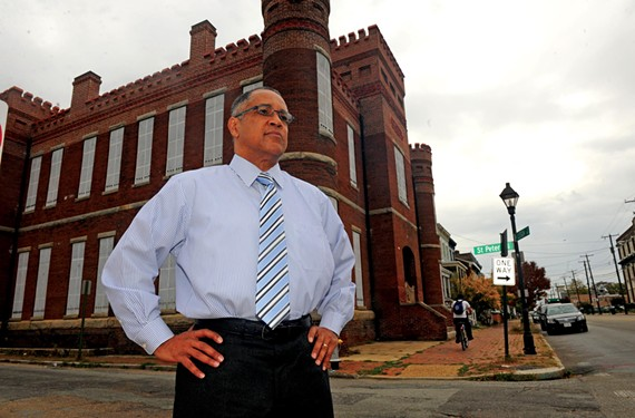 Stacy L. Burrs, the chief executive officer of Richmond's Black History Museum, says that by 2015 the museum will have a new home in the historic Leigh Street armory and a broader mission.