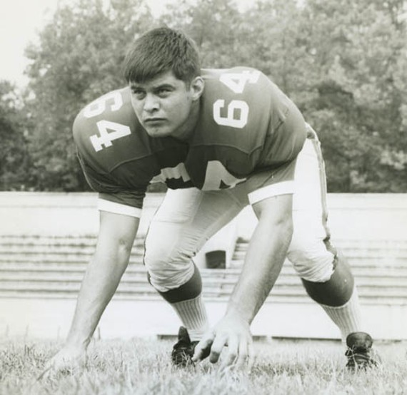 "State poet laureate and former offensive guard Ron Smith was on the University of Richmond football team that won the Tangerine Bowl in 1968. ""I started off and on for four years, busted wedges every game,"" Smith says. ""But I was certainly not one of the stars. Just a crazy lineman who liked to hit."""