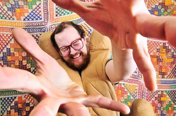 Straight outta Baltimore: Electronic musician Dan Deacon is known for his participatory live shows. - JOSH SISK