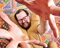 Straight outta Baltimore: Electronic musician Dan Deacon is known for his participatory live shows.