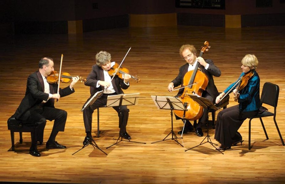 Strings attached: the Takács Quartet. - PATRICK RYAN