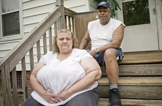 Tammy and Harmon Johnson say their daughter Briana, a resident of the Richmond Juvenile Detention Center, was verbally abused by a female guard just weeks before the facility was shut down. - ASH DANIEL