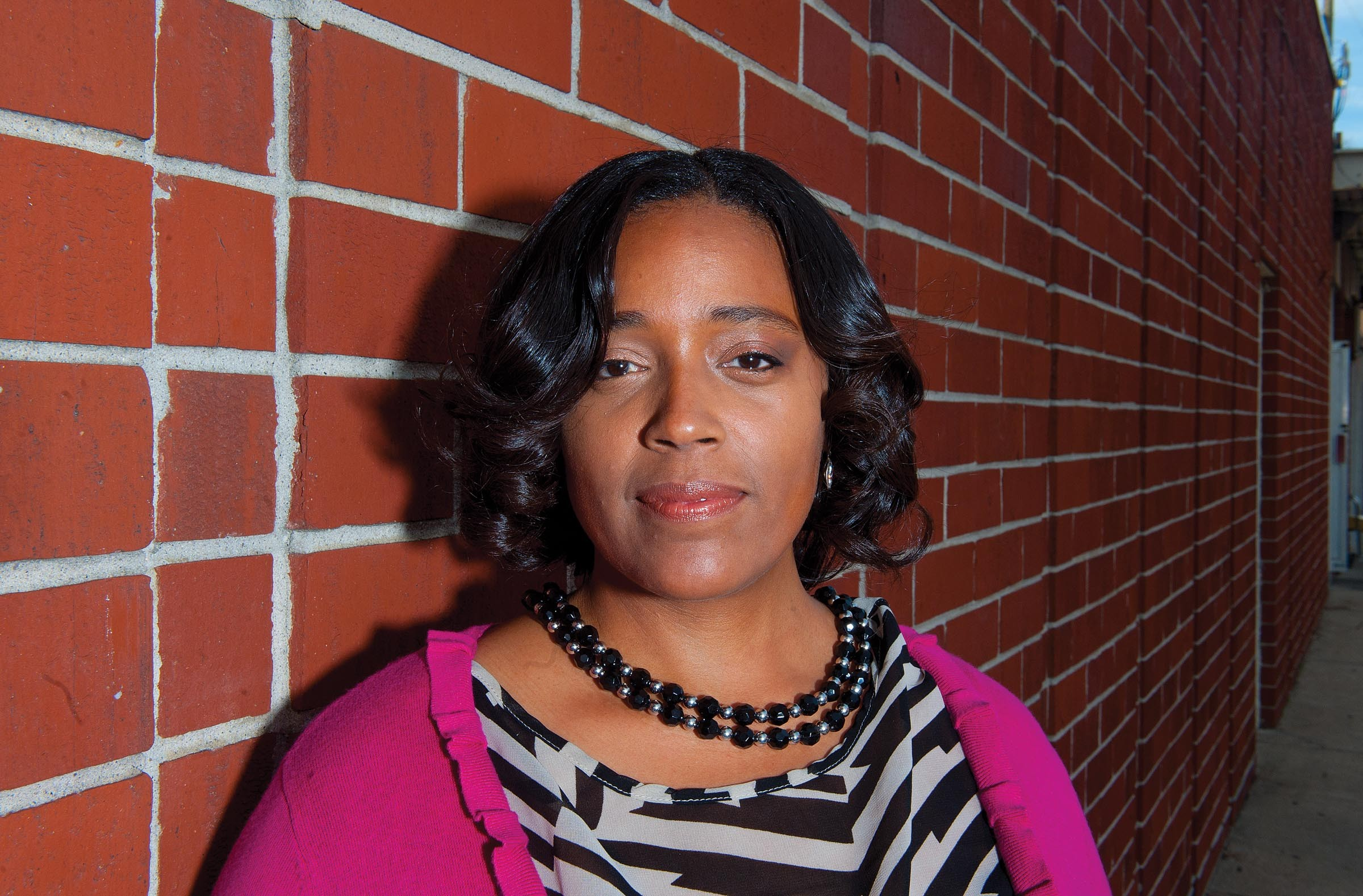 """Tanya Street worked as a prostitute for a year and a half. She now speaks out against human trafficking, and began a motivational program called Identifiable Me. Sexual integrity is important, she says: """"If you don't value and treasure it someone else will. Even though I was violated — yes it did violate me — but it didn't change me."""" - SCOTT ELMQUIST"""