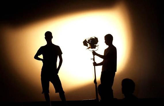 "Team Gefilte Fish Eye shoots ""Damned Love"" in Tel Aviv in 2008."