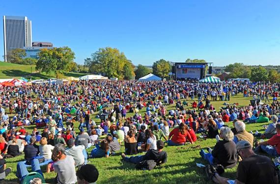 The 2011 Richmond Folk Festival - SCOTT ELMQUIST
