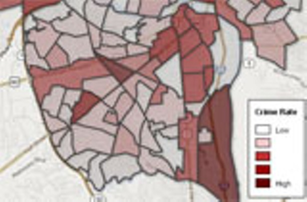The 2013 Neighborhood Crime Map News And Features Style Weekly