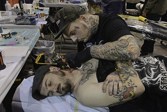 The 22nd annual Richmond Tattoo Arts Festival rolled into town on Nov. 21 through 23 at the Greater Richmond Convention Center.