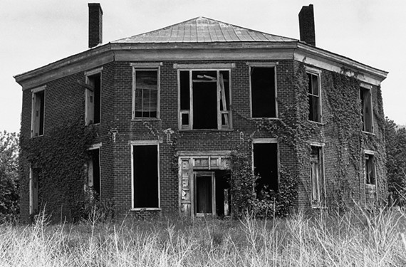 The Abijah Thomas Octagon House located near Marion is number two on 2015's most endangered historic sites.