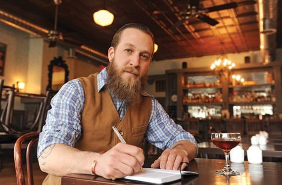 The bartender known as T, Thomas Leggett, crafts artful cocktails using Southern ingredients.