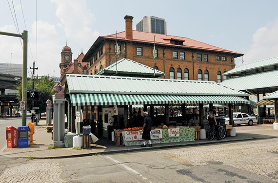 """The city plans to turn the 17th Street Farmers' Market in to an """"open urban square"""" in the next two years. - SCOTT ELMQUIST"""