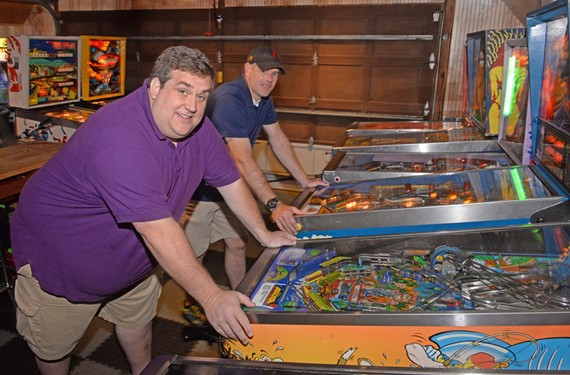 The co-founders of the River City Flippers, Chris Booberg and Taylor Reese, say Richmond's pinball scene could be bigger if there were more places to play. For now, their league meets in private homes.
