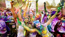 The Color Run at Richmond International Raceway