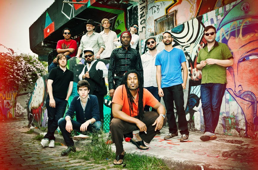 The country's premiere Afrobeat group Antibalas will be joined by Zap Mama in a special concert at the Carpenter Theater on Wednesday, Jan. 28. - MARINA ABADJIEFF