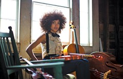The face of bass: Esperanza Spaulding. - SANDRIN LEE