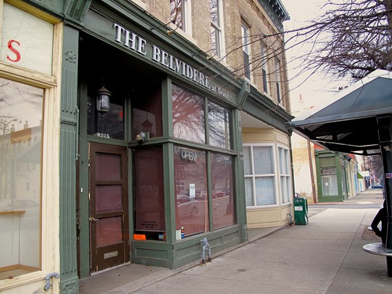 The former Belvidere at Broad space is up for sale — again. - BRANDON FOX
