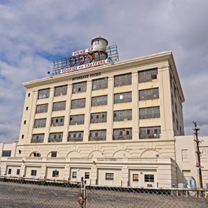 The former FFV-Interbake building, owned by Washington developer Douglas Jemal, was condemned by city officials last week. Photo by Scott Elmquist