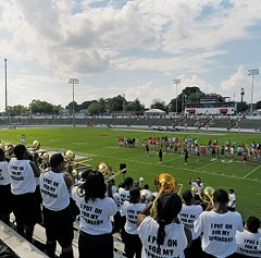 The former home of University of Richmond football, City Stadium is now a free agent. Real estate sources say it may be the city's most valuable piece of real estate. File photo by Scott Elmquist.