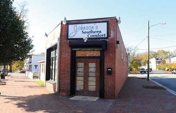 The former Jumpin' J's Java on Church Hill is about to become a new restaurant from the owners of O.M.G. Cafe nearby. - SCOTT ELMQUIST