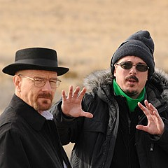 "The fourth season of AMC's ""Breaking Bad,"" starring Bryan Cranston (left), has been held up for more than a year. ""It's for good reasons,"" says Richmond native Vince Gilligan (middle), who created the award-winning television drama."
