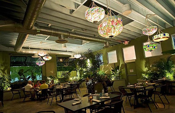 The garden room at Selba is unique and the menu brimming with options; service so far has been hit or miss. - ASH DANIEL