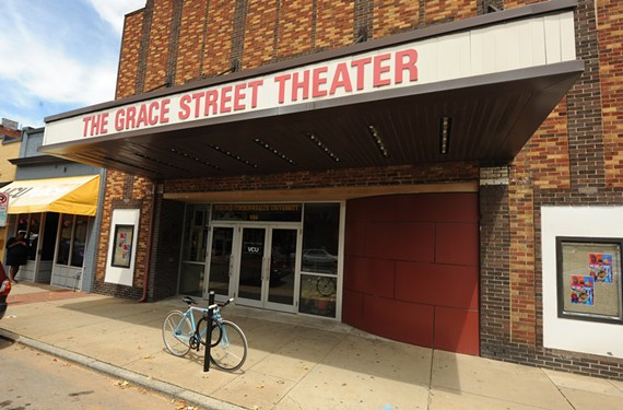 The Grace Street Theater today. - SCOTT ELMQUIST