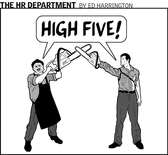 The HR Department | Cartoon | Style Weekly - Richmond, VA ...