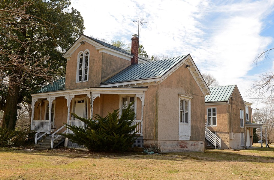 The Italianate summer home of Dr. Hunter McGuire in the 3200 block of Brook Road. - SCOTT ELMQUIST