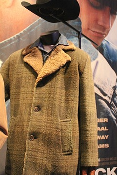 "The jacket worn by actor Jake Gyllenhaal in ""Brokeback Mountain."" - BRENT BALDWIN"
