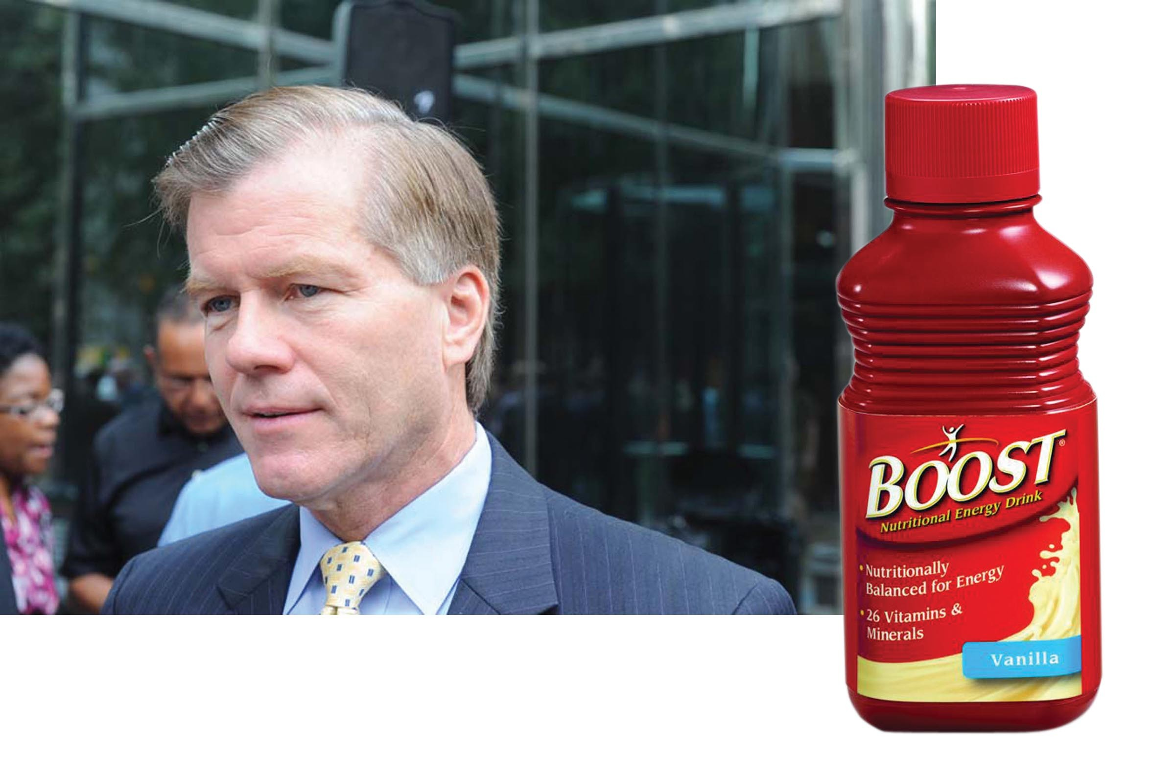 The McDonnells prefer liquid energy for breakfast. - SCOTT ELMQUIST